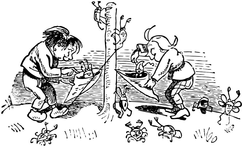 Max Und Moritz Texte Und Zeichnungen Von Wilhelm Busch Im